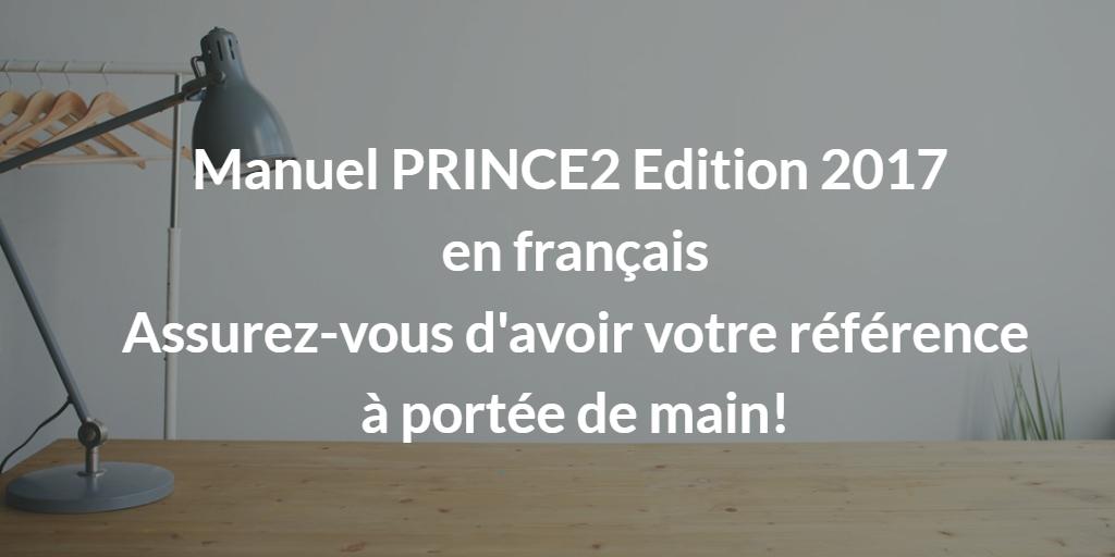 PRINCE2 2017 en français