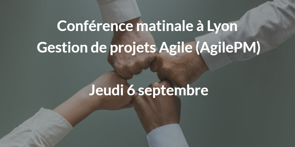 conference gestion de porjet agile