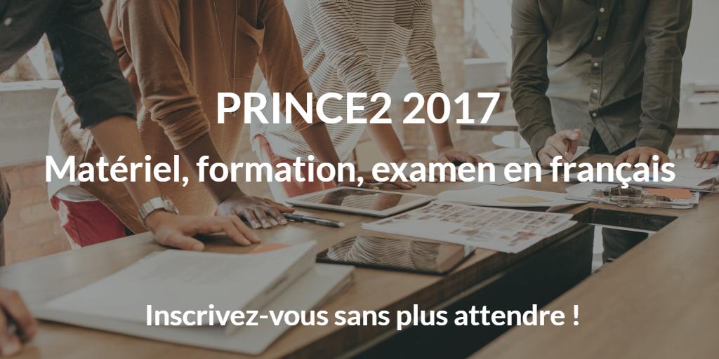 PRINCE2 100% disponible en français