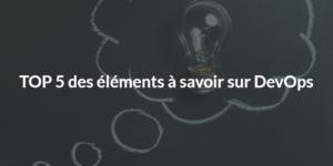 Devops - 5 elements
