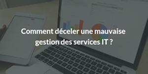 gestion des services IT