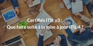 ITIL V3 conseil