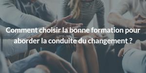 formation Conduite du changement