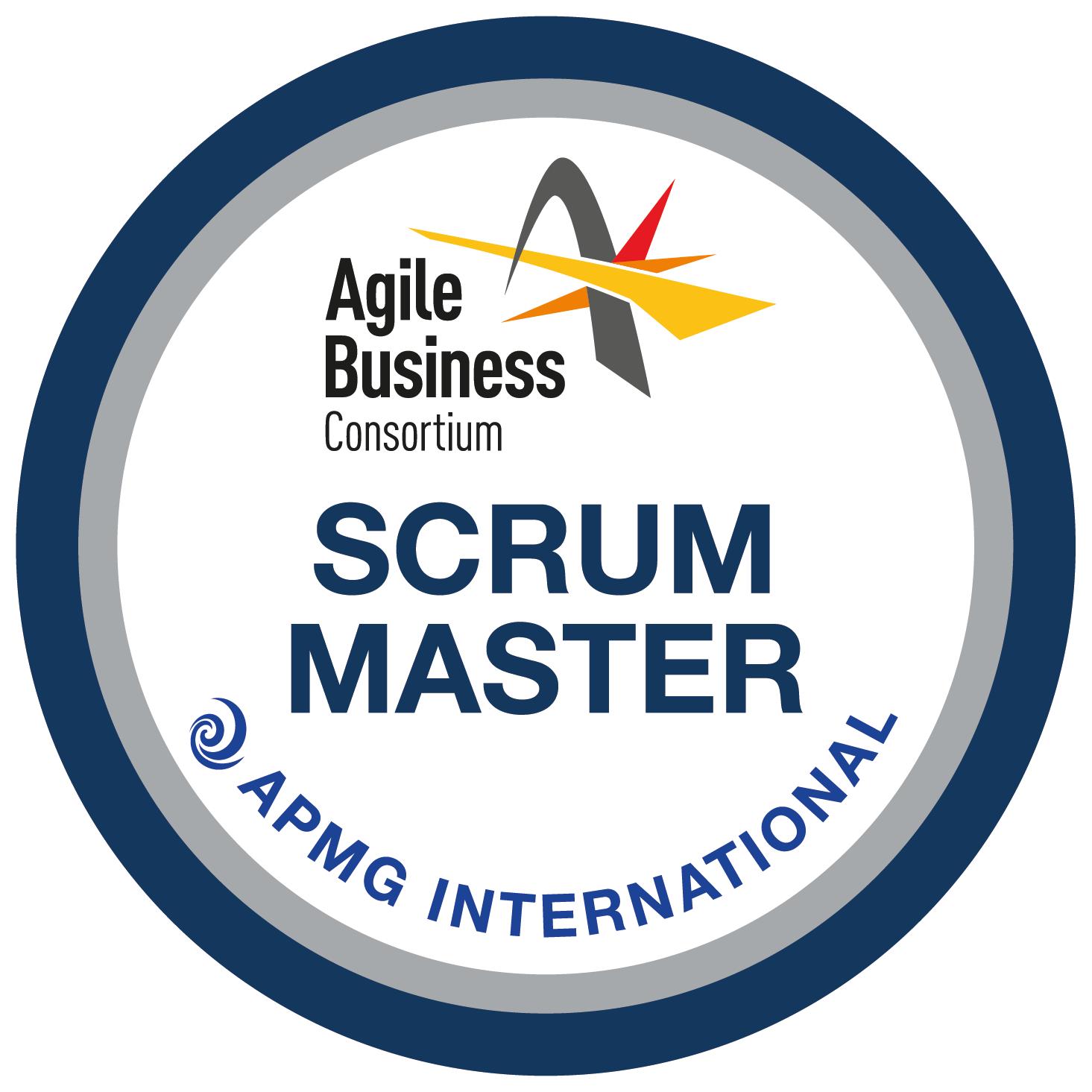 Agile Business Consortium Scrum Master logo